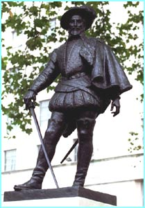 Walter Raleigh was an explorer in the 16th and 17th centuries. He brought the potato to England. No Raleigh, no chips!
