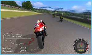 Moto GP is one of the games for Xbox Live