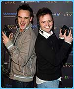 Ant and Dec helped launch Xbox Live