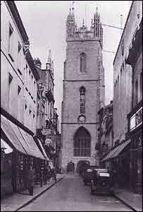 Picture courtesy of Cardiff Then and Now (Breedon Books, edited by Brian Lee)