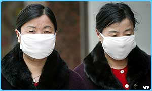 Some people in China are wearing masks because of the bug
