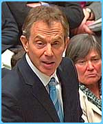 Tony Blair is facing a key vote in the Commons