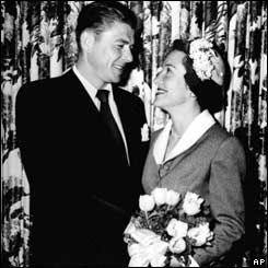 Ronald and Nancy Reagan married in 1952