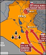Detailed maps of Iraq