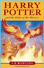The kids' cover for Order of the Phoenix