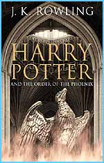 The adult cover for Order of the Phoenix