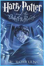 The US cover for Order of the Phoenix