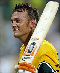Adam Gilchrist  is Australia's top run scorer