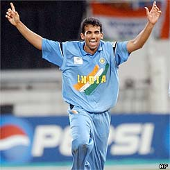 Zaheer Khan's bowling has been important to help India have progress to the final