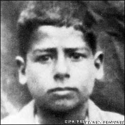 Saddam Hussein as a boy