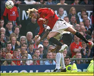 David Beckham has a great game and helps create lots of chances