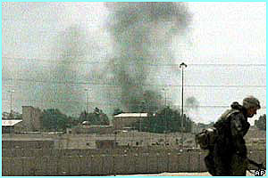 Eventually a US Harrier jump-jet dropped two bombs on the buildings, and the Iraqis gave up