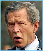 Bush appeals for the US prisoners to be treated well