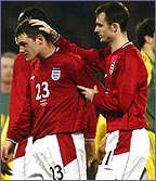 Wayne Rooney and Francis Jeffers