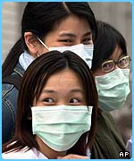 Surgical masks are worn for protection