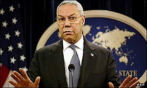 Secretario de Estado de EE.UU., Collin Powell.
