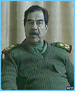 Saddam Hussein was on Iraqi television again