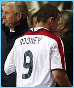Loads of fans want shirts with Rooney and 9 on them