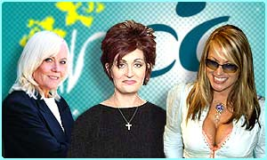 Famous people have to battle cancer too: EastEnders' Wendy Richards, Sharon Osbourne and singer Anastacia have all battled the disease