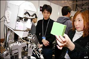 Japan's Waseda University's WE-4R robot