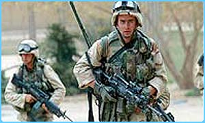 US troops take Saddam's palace