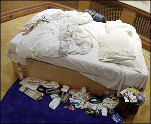 Tracey Emin's My Bed from 1998