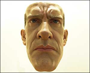 Ron Mueck's Mask from 1997