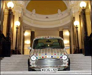 Damien Hirst's Spot Mini from 2002