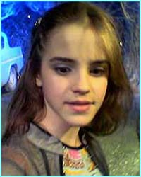 Top of her class, witch Hermione Granger, played by Emma Watson