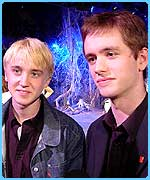 Tom Felton and Sean Biggerstaff