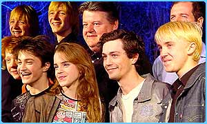 The Harry Potter cast have a laugh together