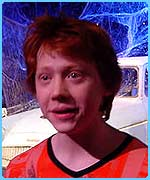 Rupert Grint was as happy as ever