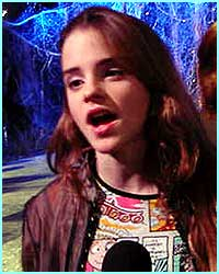 Emma Watson gets more like Hermione every day