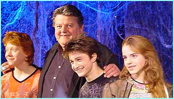Robbie Coltrane (Hagrid) shows he likes children after all