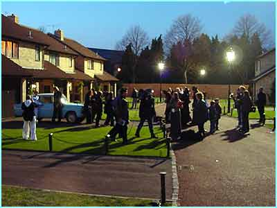 Privet Drive's never seen so much activity, except for the night Harry was born of course