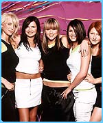Will Girls Aloud be the download Xmas number one in 2003?