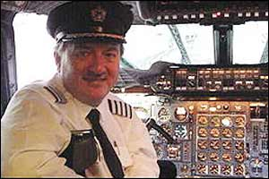 Chief Concorde pilot Mike Bannister has been flying the supersonic jet since 1977