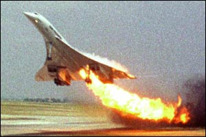 113 people died after Concorde crashed in July 2000