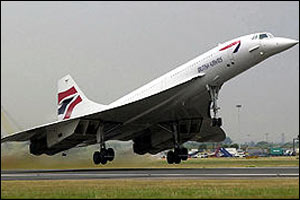 The supersonic jet cruises at around 1350 mph at an altitude of up to 60,000ft