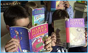 Chamber of Secrets is Britain's most borrowed library book
