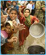 Children in Iraq need clean water
