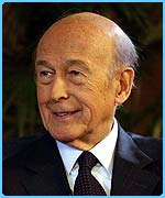 The plans are the responsibility of former French President Valery Giscard d'Estaing