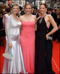 Sophie Raworth needed no fashion help from Trinny and Susannah