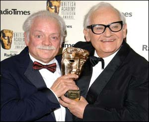 David Jason and Ronnie Barker shared a laugh and memories