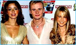 S Club's Tina, Jon and Rachel
