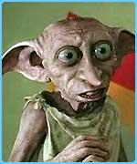 Dobby stars in the second Potter movie
