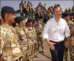 Blair in Umm Qasr