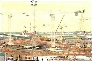 Building work for Terminal Five