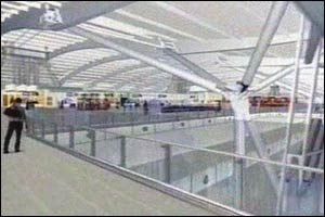 Graphics of what Terminal Five will look like
