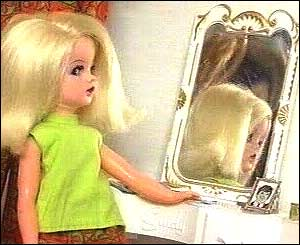 Sindy and mirror